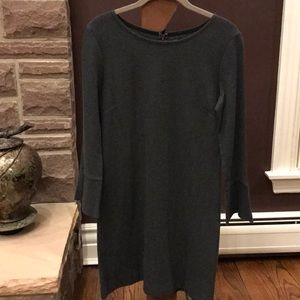 Madewell knit dress with 3/4 flares sleeve size S